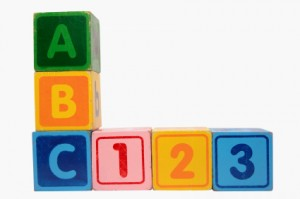 Image of A B C blocks
